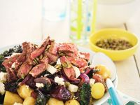 Kartoffelsalat mit Rindfleisch Rezept