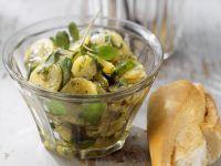 Kartoffelsalat mit Wasserkresse Rezept
