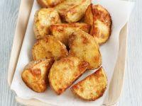 Kartoffelspalten mit Curry und Chili Rezept