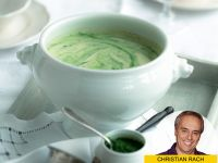 Feine Kartoffel-Kräuter-Suppe