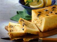 Kartoffelterrine mit Kabeljau und Oliven Rezept
