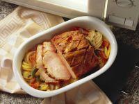 Kassler mit Kartoffeln und Paprika Rezept