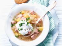 Kassler mit Sauerkraut Rezept