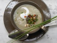Kastanien-Kartoffel-Suppe Rezept