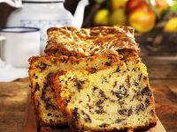 Kastenkuchen mit Apfel und Schokolade Rezept