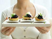 Kaviar-Blinis – smarter Rezept