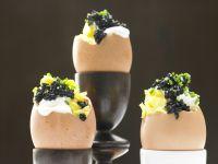 Kaviar-Eier Rezept