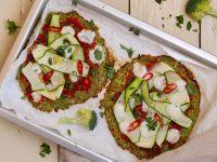 Keto-Brokkoli-Pizzafladen Rezept