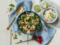 Keto-Gemüse-Curry mit Blumenkohlreis Rezept