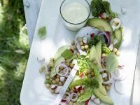 Kichererbsen-Avocado-Salat
