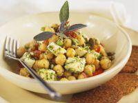 Kichererbsen-Feta-Salat Rezept