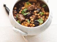 Kichererbsen-Rindfleisch-Eintopf aus Nordafrika Rezept