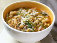 Kichererbsen-Wirsing-Suppe mit Tomaten Rezept