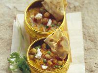 Kichererbseneintopf nach indischer Art Rezept