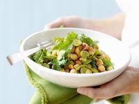 Kichererbsensalat mit Bohnen Rezept