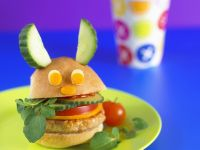 Kinder-Hähnchenburger Rezept