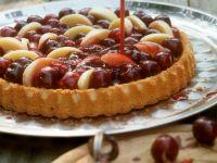 Kirsch-Pfirsich-Kuchen Rezept
