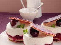 Kirschküchleine mit Sahncreme Rezept
