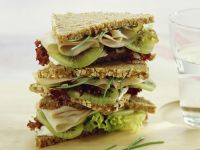 Kiwi-Putenbrust-Sandwich Rezept