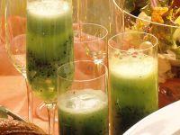 Kiwi-Sekt-Cocktail Rezept