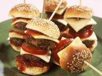Kleine Cheeseburger Rezept