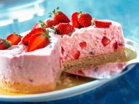 Kleine Erdbeer-Mascarpone-Torte Rezept