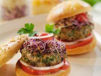 Kleine Kalbfleisch-Burger Rezept