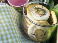 Kleine Kartoffel-Brotfladen