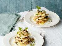 Kleine offene Pilz-Lasagne Rezept