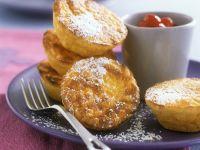 Kleine Safran-Reisgratins mit Cranberrykompott Rezept