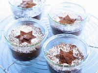 Kleine Schoko-Nuss-Kuchen Rezept
