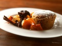 Kleiner Honigkuchen mit winterlichem Kompott Rezept