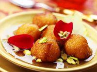 Kleines Sirup-Gebäck nach indischer Art Rezept