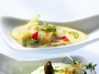 Knoblauch-Mayonnaise mit Galgant
