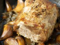 Knoblauch-Schweinelende Rezept