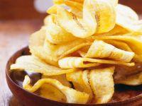 Knusprige Chips aus Bananen