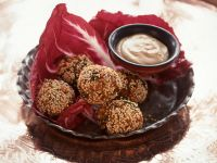 Knusprige Falafel mit Sesamkruste Rezept