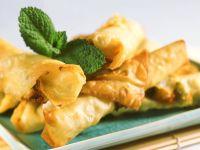 Knusprige Käse-Röllchen Rezept