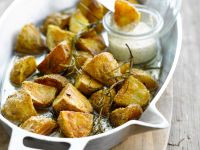 Knusprige Ofenkartoffeln Rezept