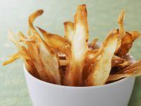 Knusprige Pastinaken-Chips Rezept