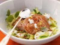 Kohlgemüse mit Lammschnitzelchen Rezept