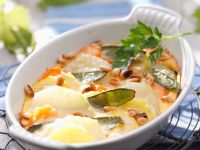 Kohlrabi-Kartoffel-Gratin Rezept