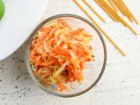 Kohlrabi-Möhren-Salat Rezept
