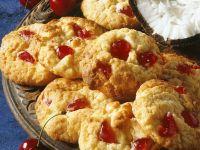 Kokos-Kirsch-Cookies Rezept