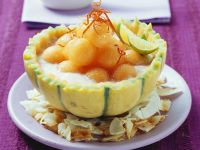 Kokos-Melonen-Suppe Rezept