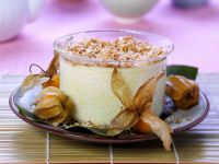 Kokos-Reispudding mit Physalis Rezept