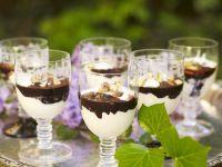 Kokos-Schoko-Creme mit Pistazien Rezept
