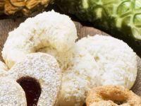 Kokos-Vanillekipfel Rezept