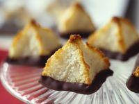Kokosmakronen mit Schokofüßen Rezept