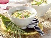 Kokosmilch-Hähnchensuppe mit Ananas Rezept